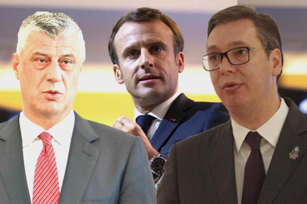 Makron pozvao Vučića i Tačija na sastanak