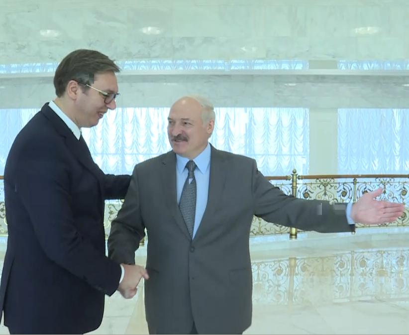 Predsednik Vučić s Lukašenkom