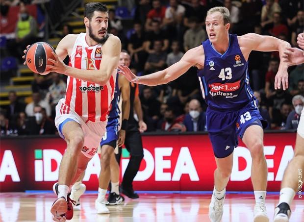 Težak poraz košarkaša Crvene zvezde od Albe u Beogradu