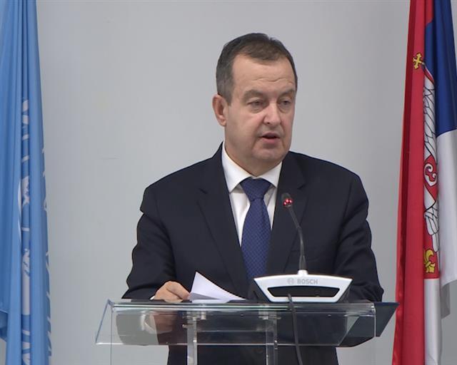 Dačić: Srbija ostaje posvećena ciljevima i principima Povelje UN