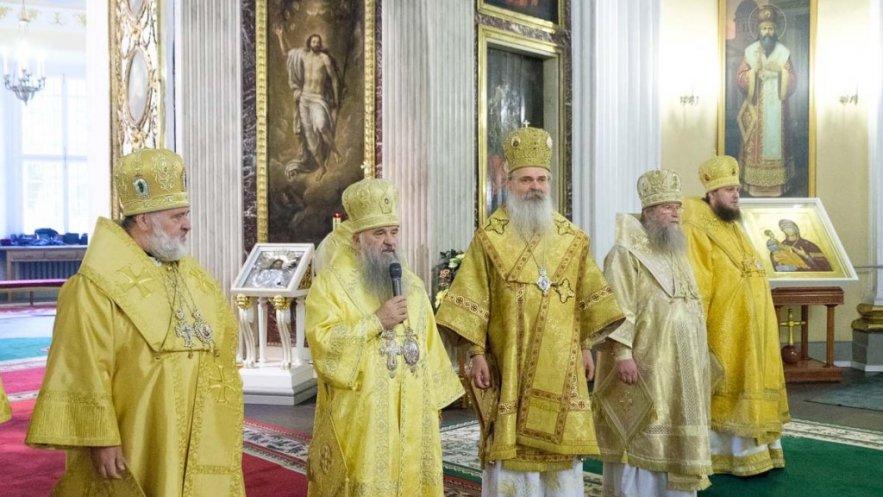 Vladika Teodosije  u poseti Ruskoj pravoslavnoj crkvi