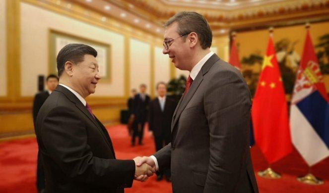 Kineski mediji o susretu Vučića i Sija
