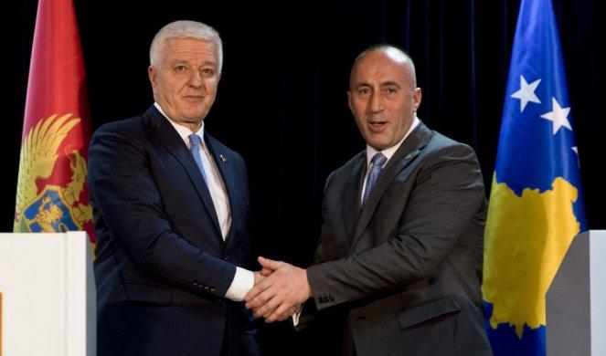 Haradinaj o demarkaciji, jačanju prijateljstva sa Crnom Gorom