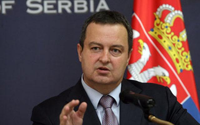 Dačić: Fajon sama sebe diskvalifikovala
