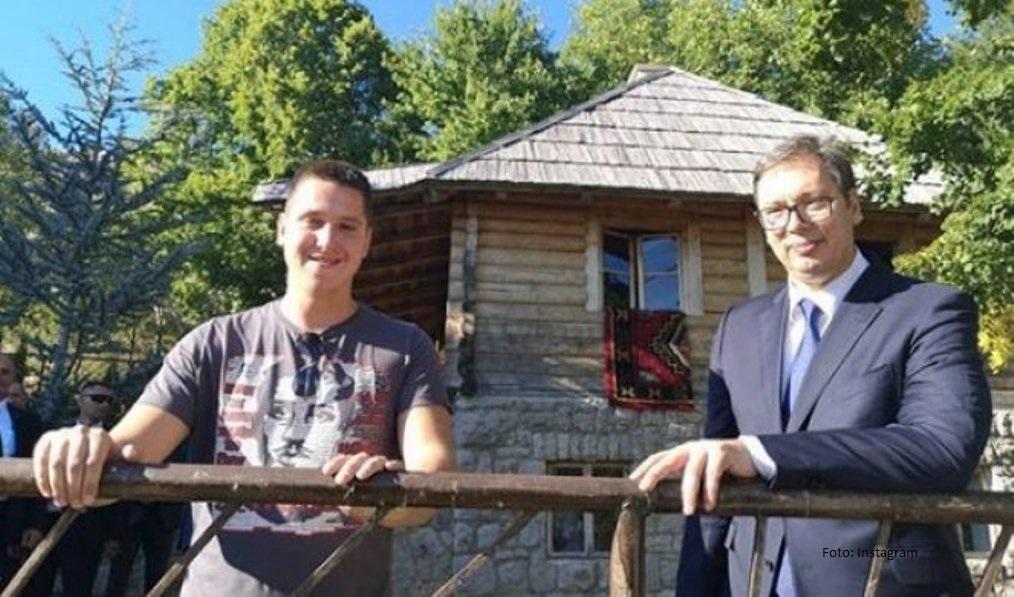 Vučićev sin Danilo zaražen koronavirusom, hospitalizovan na Infektivnoj klinici