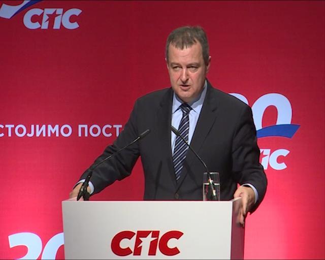 Dačić: Smisao SPS jeste da brani interese Srbije i svoje ideje