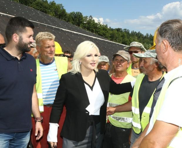 Mihajlovićeva ponosna na radnike na