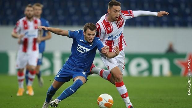Crveno-beli poklekli u Nemačkoj, Hofenhajm slavio sa 2:0