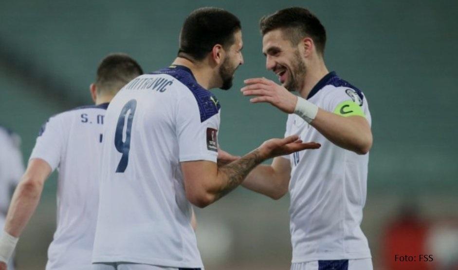 Dva gola Mitrovića za pobedu Srbije u Azerbejdžanu