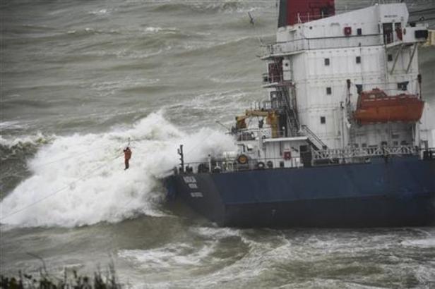 U Turskoj spaseno 16 članova posade teretnog broda