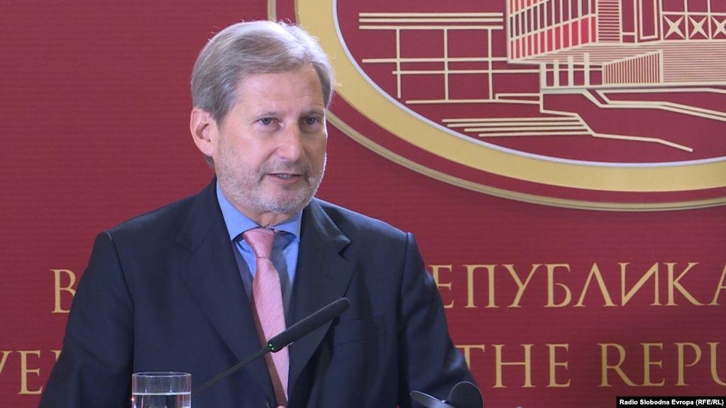 Han: Ubeđen sam da će S.Makedonija u oktobru dobiti datum
