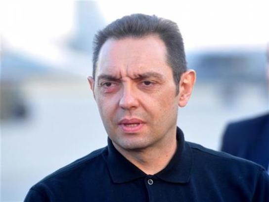 Vulin: Petričićeve slike su odraz mržnje prema Vučiću