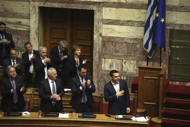 Grčki parlament izglasao poverenje Ciprasovoj vladi