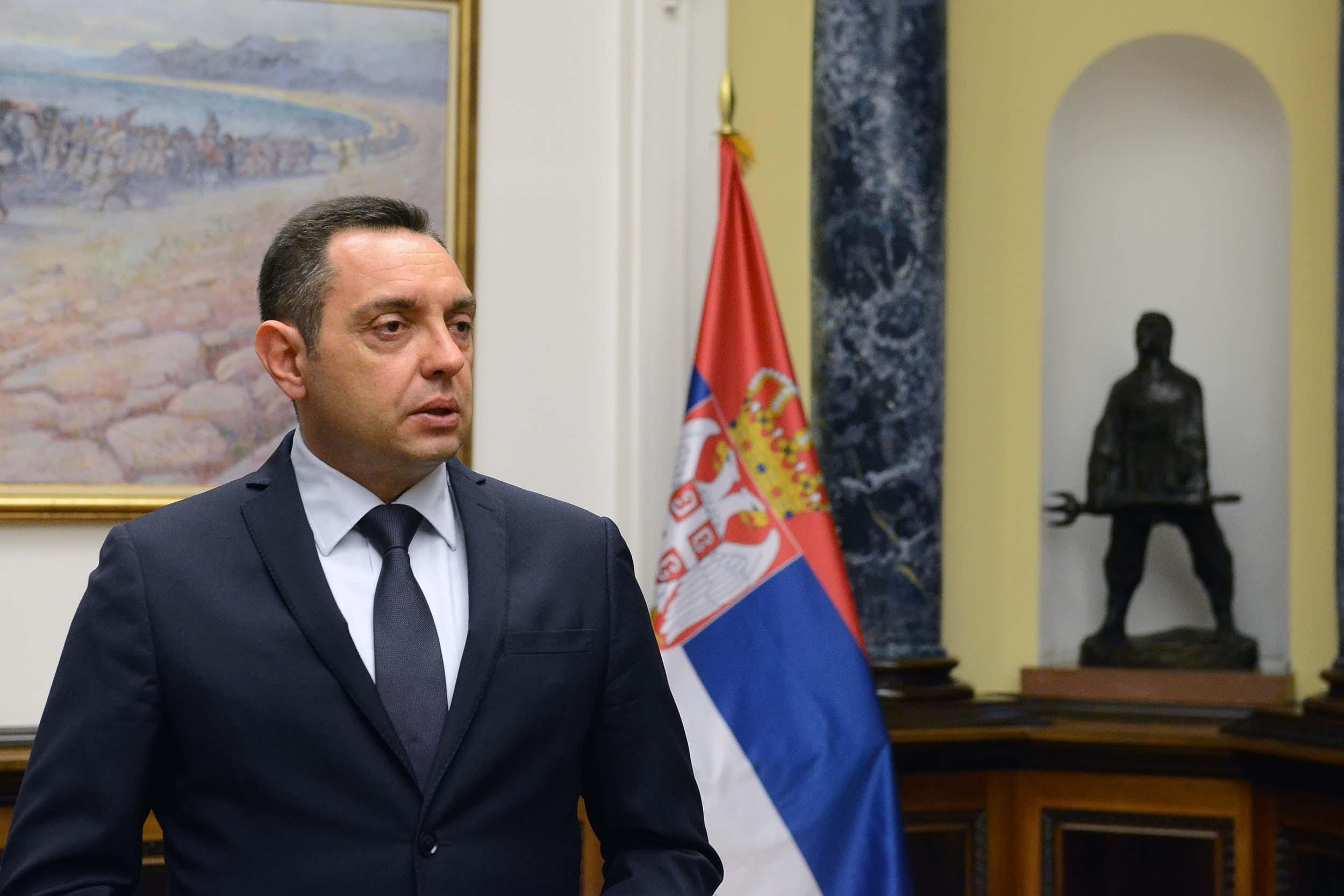 Vulin: Priština želi da administrativna linija bude granica