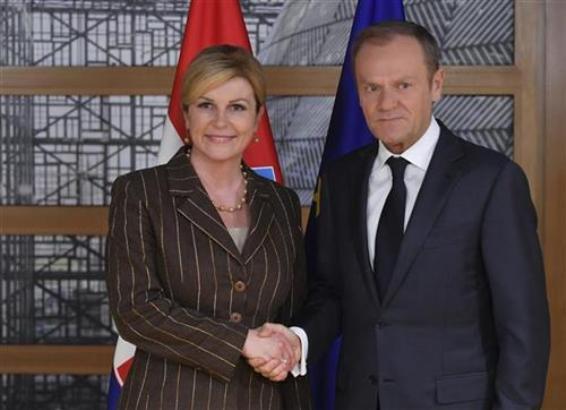 Kitarović zabrinuta zbog događaja u BiH