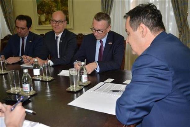 Dačić se sastao sa predstavnicima MOR-a