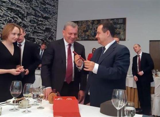 Dačić i Borisov o saradnji dve zemlje