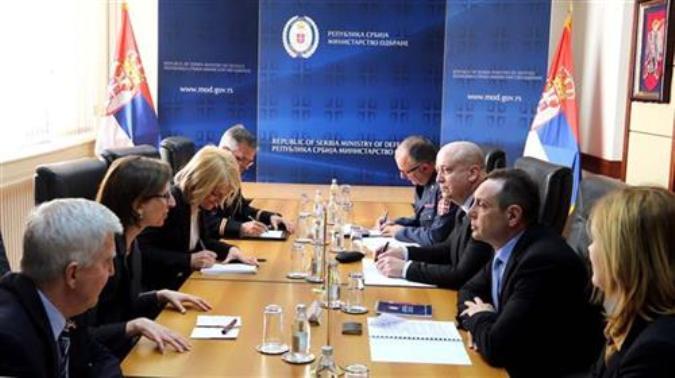 Vulin i Kuper o saradnji Vojske Srbije i Oružanih snaga SAD