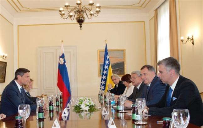 Dodik, Džaferović, Pahor: Proširenje EU važno za ceo kontinent