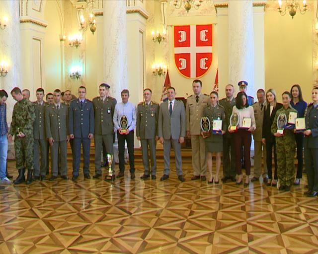 Nagrade pripadnicima Ministarstva odbrane i Vojske Srbije