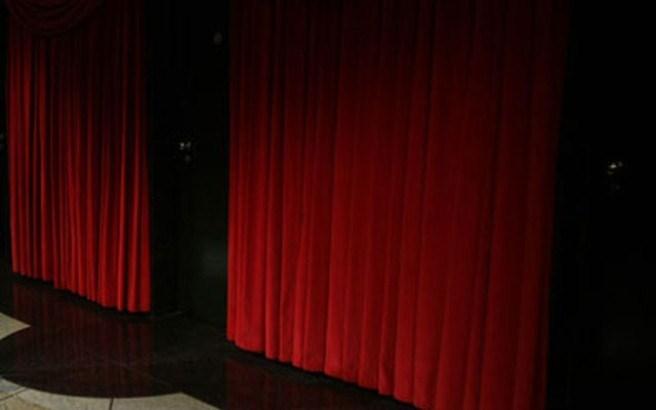 Prekinuta predstava, glumica