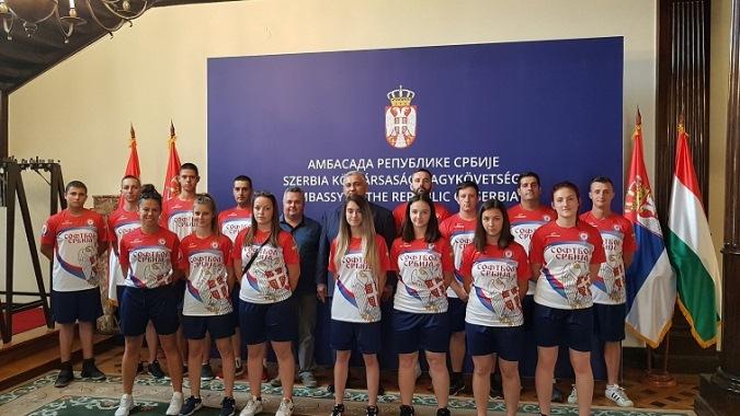 Softbol tim Srbije na EP u Budimpešti
