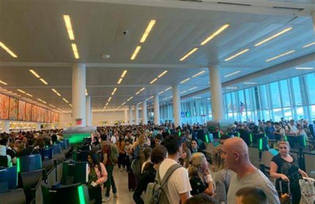 SAD: Kvar kompjutera odložio letove na nekoliko aerodroma