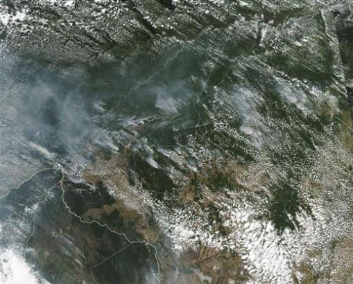 NASA objavila uznemirujuće fotografije požara u Amazoniji