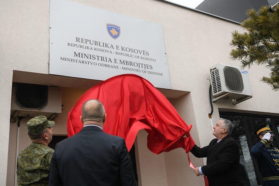 Priština: Počinje sa radom Ministarstvo odbrane