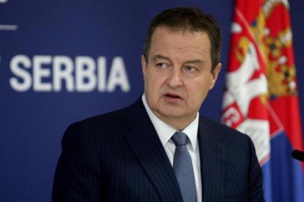 Dačić: Dvostruki standardi EU, stavovi Beograda od početka jasni