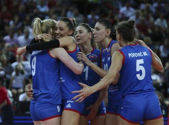 Prva pobeda odbojkašica Srbije na Svetskom kupu