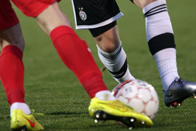 Praznik fudbala u Humskoj: Partizan - Zvezda prvi čin