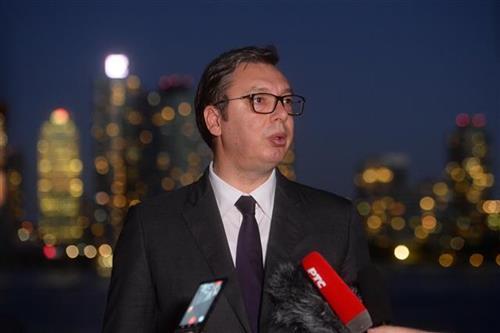 Vučić završio posetu Njujorku