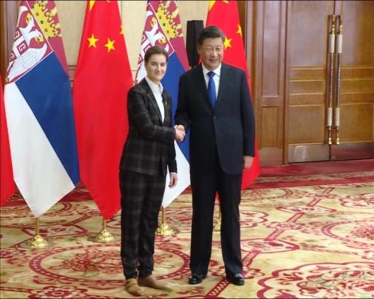 Premijerka Brnabić se sastala sa Si Đinpingom