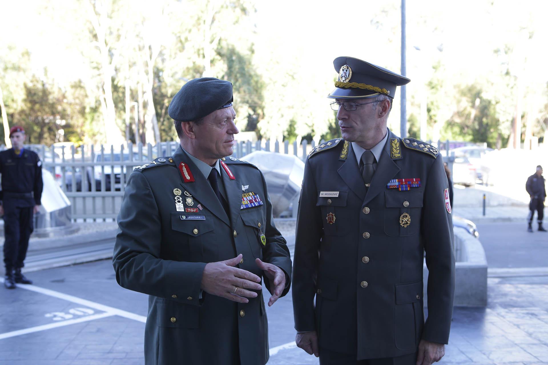 Poseta načelnika Generalštaba Republici Kipar