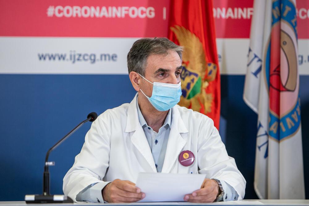 Direktor Instituta za javno zdravlje Crne Gore podneo ostavku