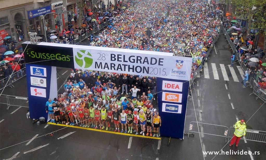 Promocija Beograda u Šenženu, Kinezi stižu na maraton