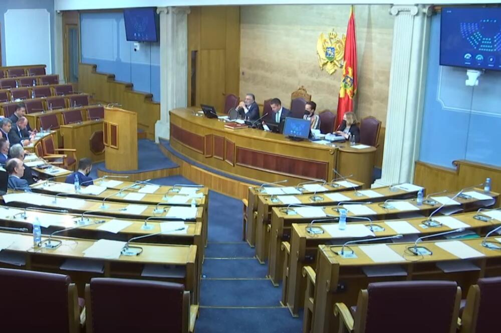 Skupština Crne Gore usvojila Zakon o državnom tužilaštvu