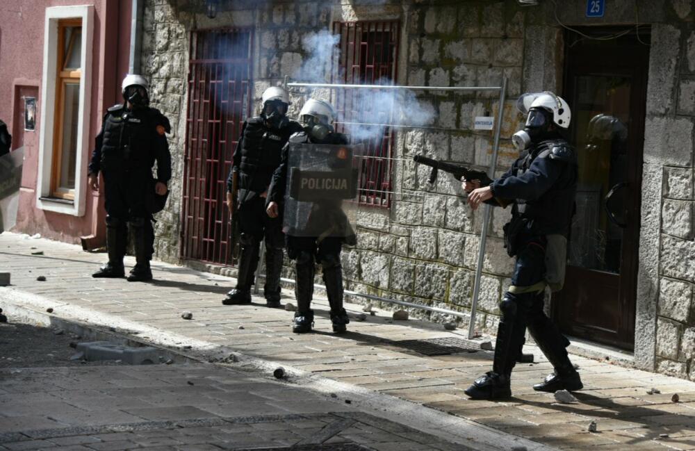 Uprava policije: Prilikom intervencije na Cetinju nije bilo upotrebe gumenih metaka