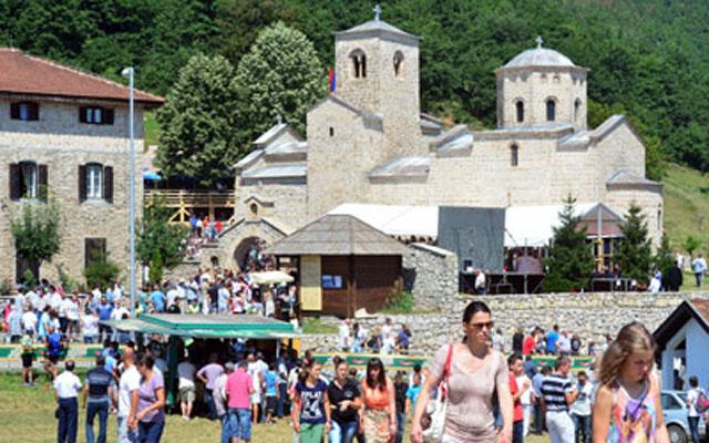 Joanikije održao onlajn litiju iz manastira Đurđevi stupovi