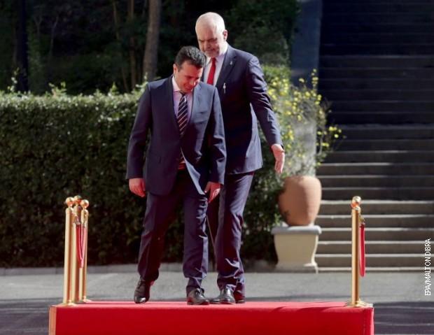 Zaev: Albanija je naš najbolji prijatelj