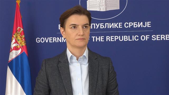 Brnabić: Srbija uz Srbe sa Kosova, želi da pomogne
