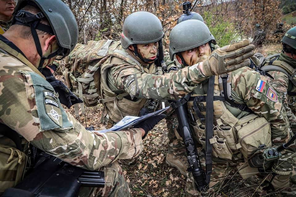 KFOR obavlja redovne vojne vežbe