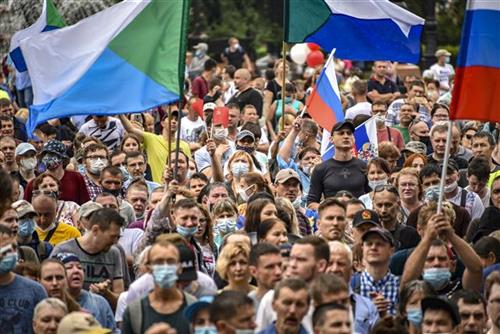 U Habarovsku i dalje masovni anti-vladini protesti