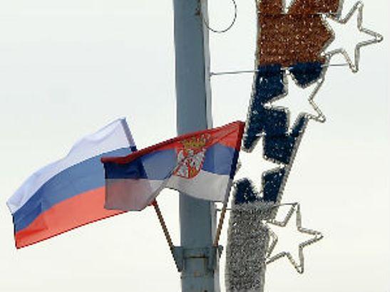 Beograd u bojama ruske i srpske zastave dočekuje Putina