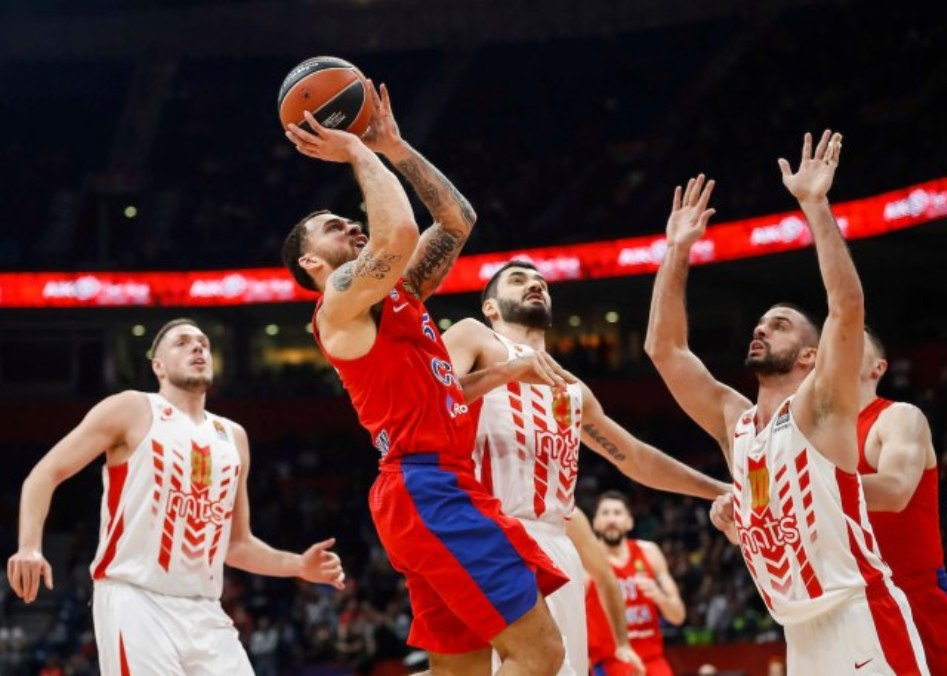 Poraz košarkaša Crvene zvezde od CSKA