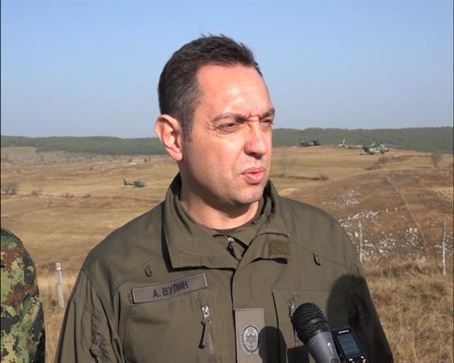 Vulin: Na vežbi ćemo prikazati silu koja nije viđena od JNA