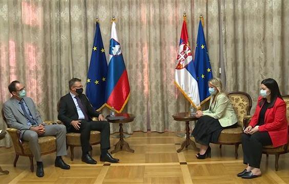 Slovenija podržava politiku proširenja i evropski put Srbije