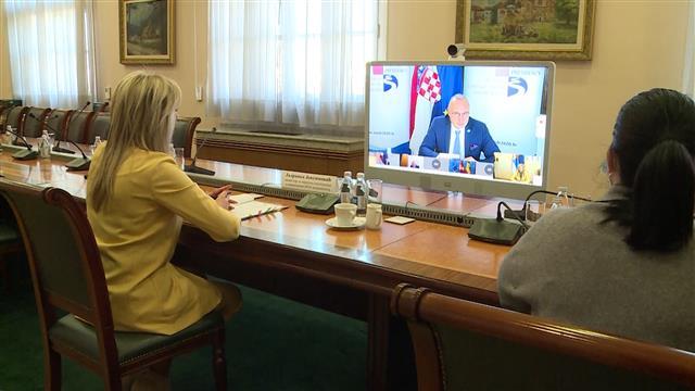 Joksimović s ministrima Podunavskih zemalja o EUSDR
