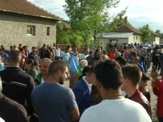Protest mađarskih ultradesničara protiv Roma